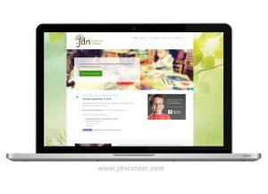 Website design for JDN Center for Children