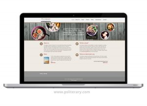 Website Design - P.S. Literary Agency