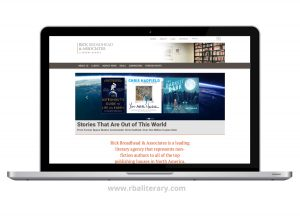 Rick Broadhead literary agent website design