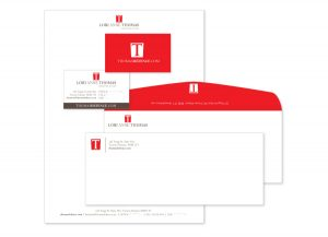 Logo Design and Stationery - Thomas Defence