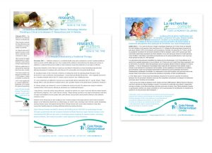 Info Sheets for Cystic Fibrosis Canada