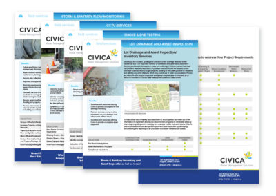 Civica – Services Sell Sheets