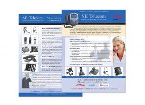 SE Telecom sell sheet