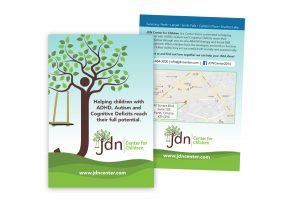 JDN Center for Children postcard