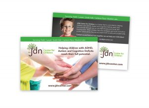Direct Mail piece for JDN Center for Children